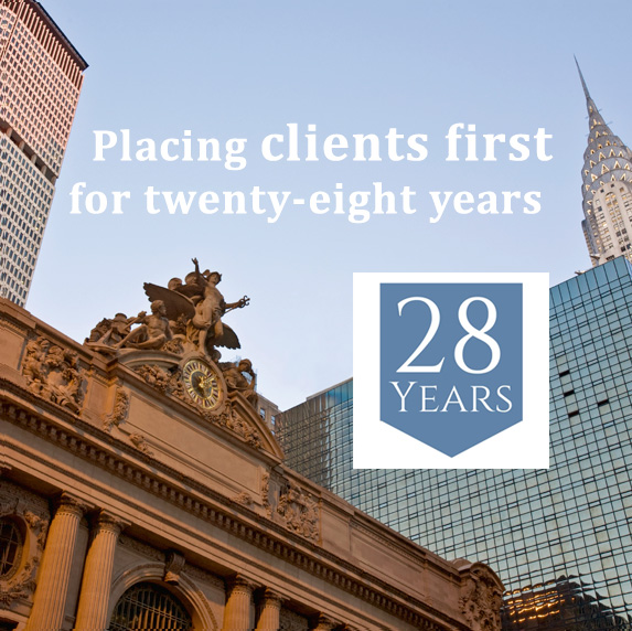 Placing client first for twenty-eight years